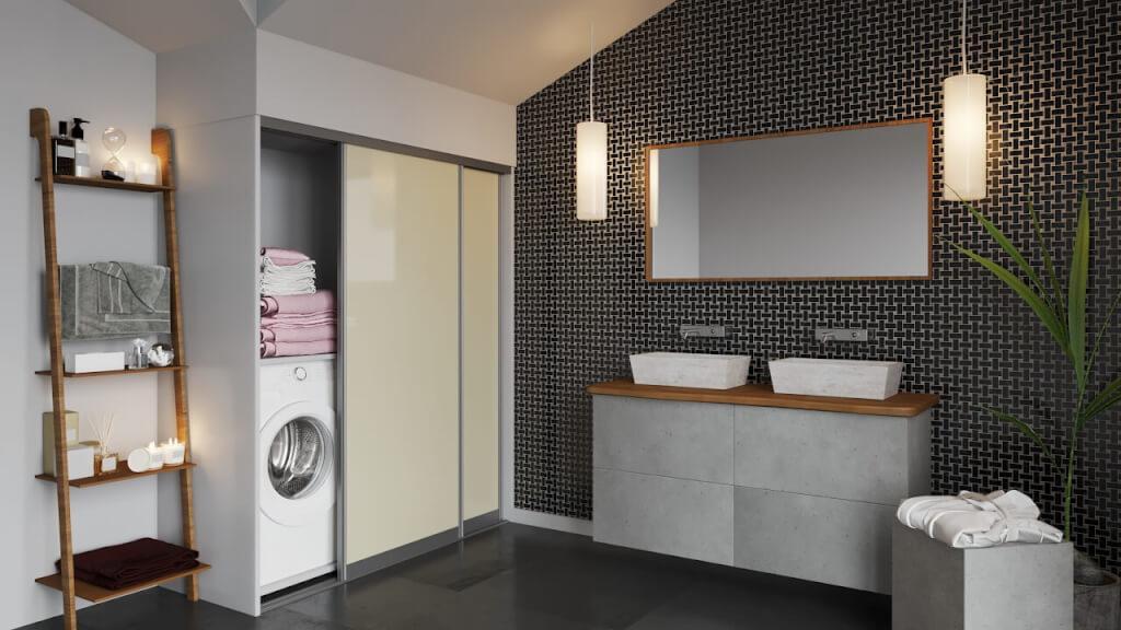 Badezimmer mit Möbel nach Maß