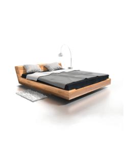 Kobe Bett aus Holz Carvido