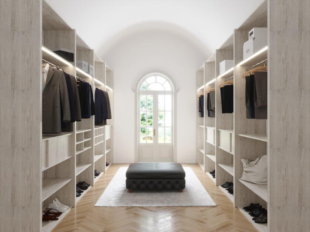 Begehbarer Kleiderschrank Mit Carvido Individualisieren